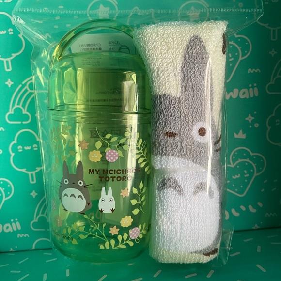 My Neighbor Totoro washcloth and travel case